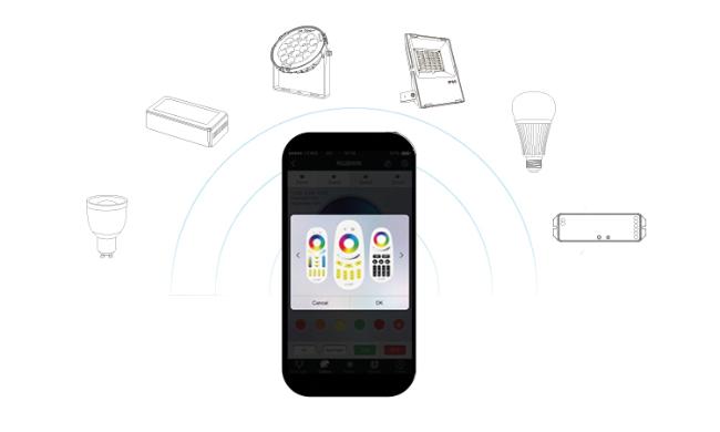 led trading milight smart home lichtsteuerung. Black Bedroom Furniture Sets. Home Design Ideas